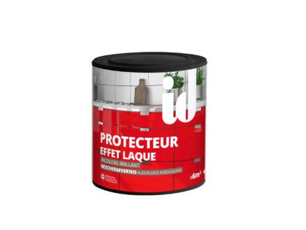 Vernis de protection brillant 0,45l incolore effet laque