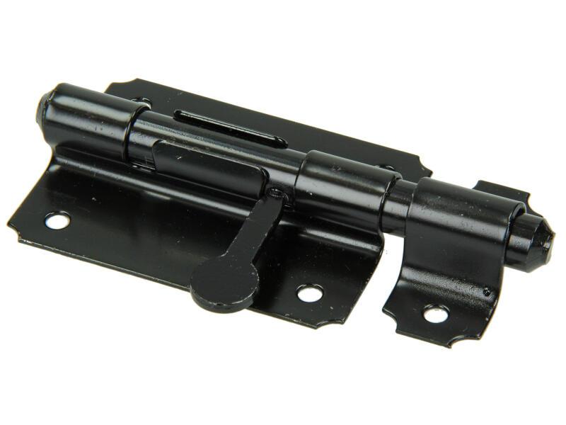 Verrou de box 80mm noir