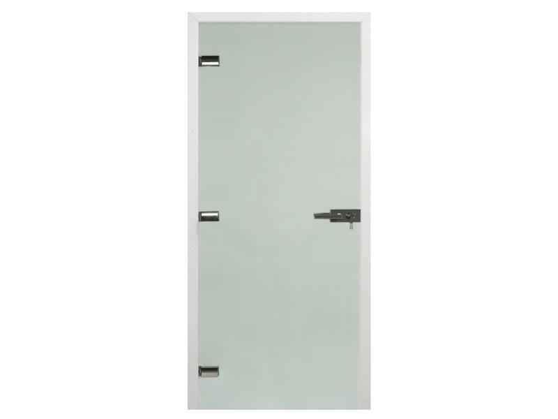 Solid Vetro C001 glazen binnendeur 201x83 cm