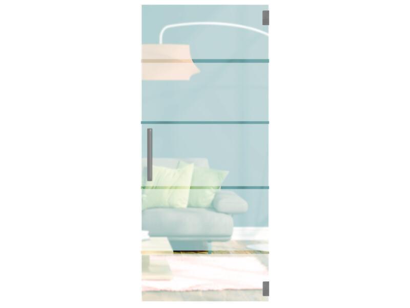 Solid Vetro C003 glazen binnendeur 211x73 cm