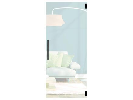 Solid Vetro porte intérieure en verre va-et-vient C001 211x93 cm