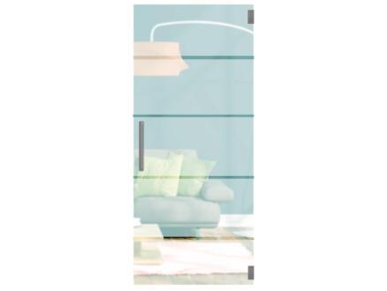 Solid Vetro porte intérieure verre C003 211x93 cm