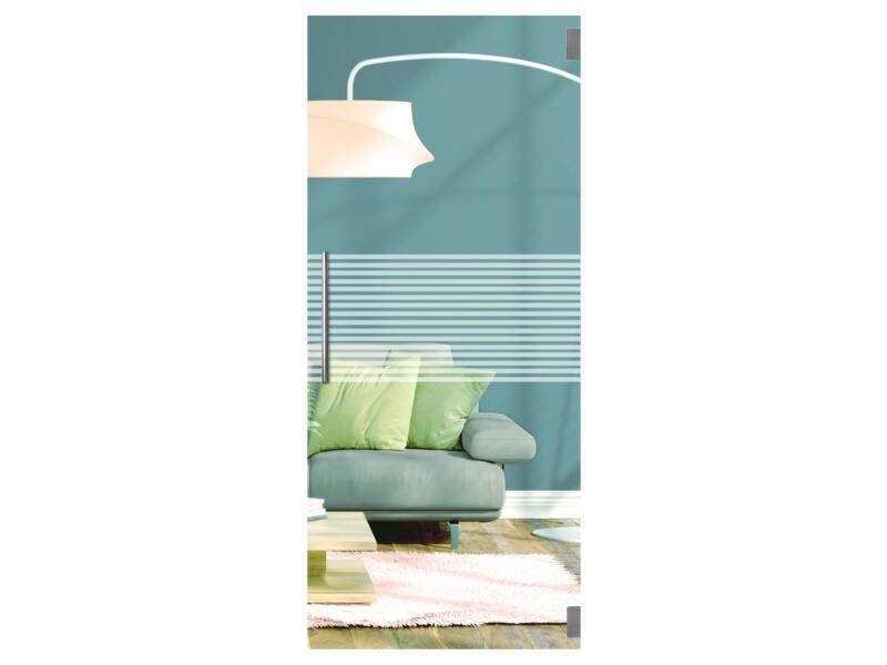 Solid Vetro porte intérieure verre C004 201x88 cm