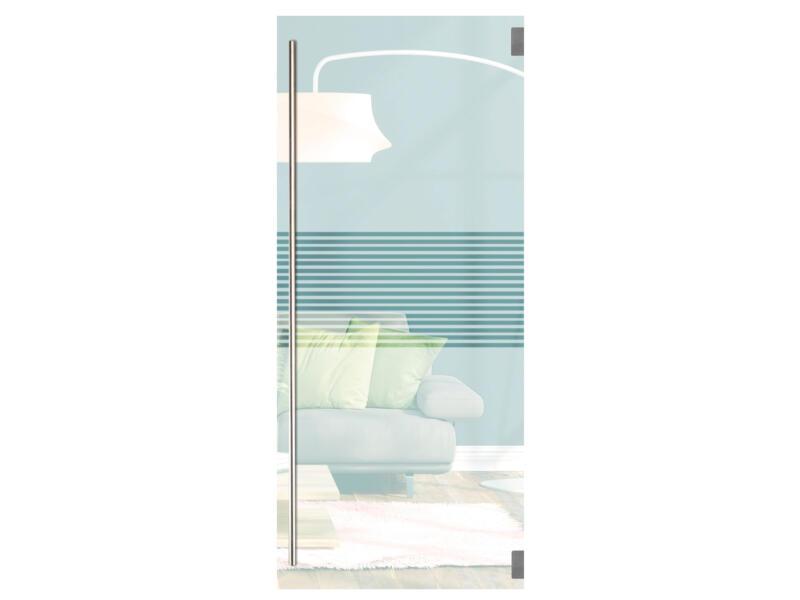 Solid Vetro porte intérieure verre C007 201x83 cm