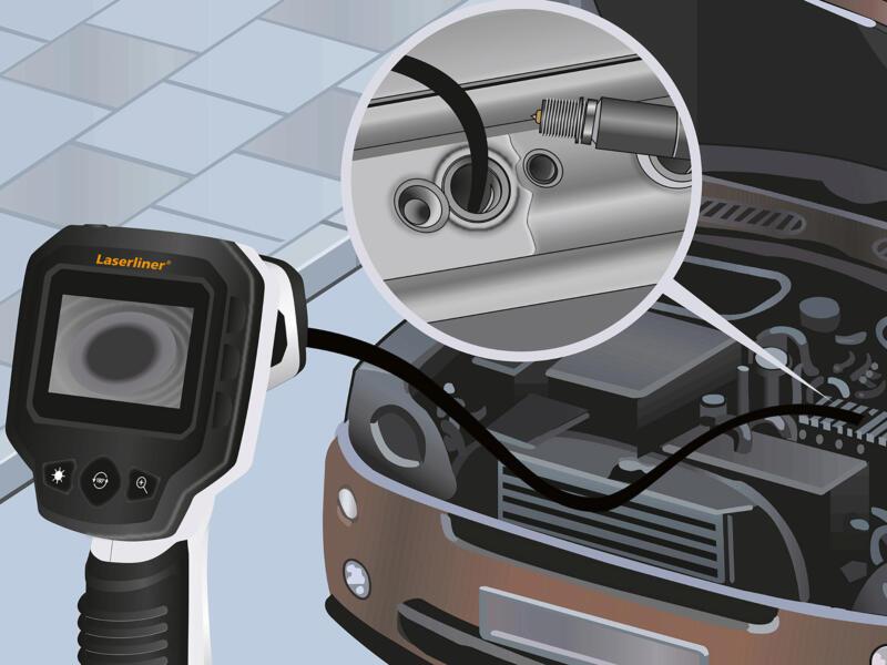 Laserliner VideoScope One appareil d'inspection caméra