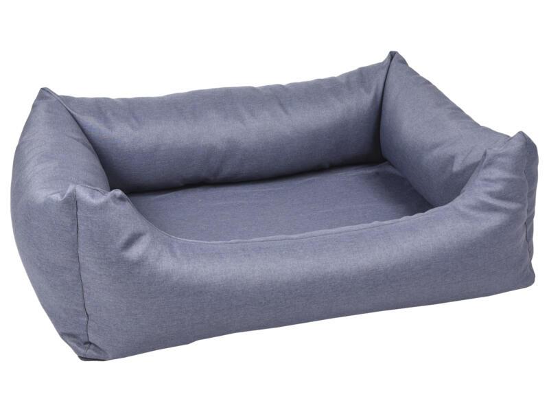 Vidova hondenmand 100x80x25 cm blauw