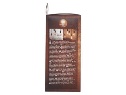 Philips Vintage LED Edisonlamp filament donker glas E27 4,5W dimbaar