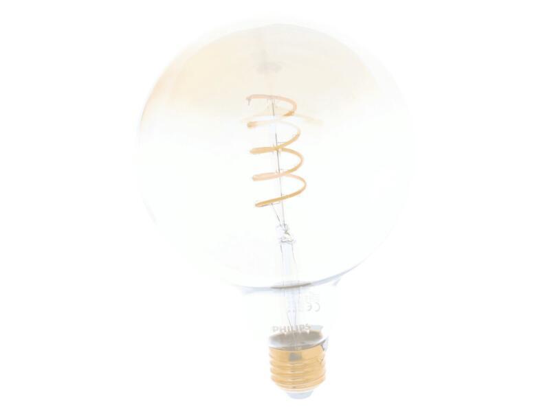 Philips Vintage LED bollamp filament E27 4,5W dimbaar