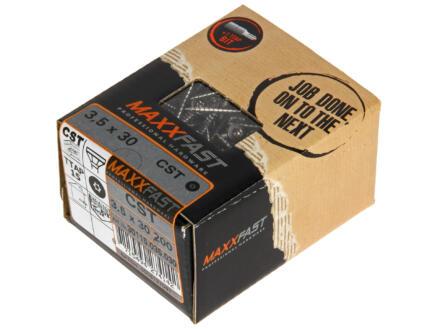 Maxxfast Vis à bois TX 30x3,5 mm inox 200 pièces