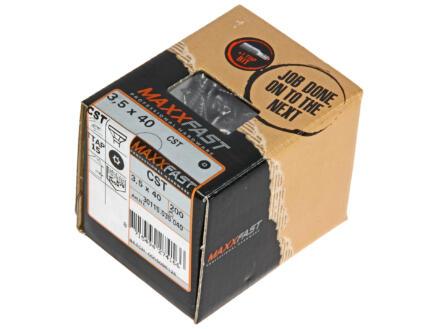 Maxxfast Vis à bois TX 40x3,5 mm inox 200 pièces