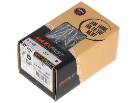 Maxxfast Vis à bois TX 50x5 mm inox 200 pièces