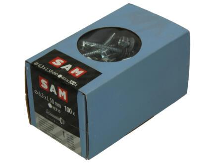 Mack Vis autoforantes H10 50x6,3 mm zingué 100 pièces