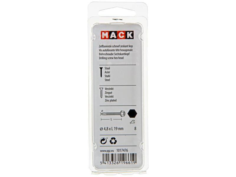 Mack Vis autoforantes H8 19x4,8 mm zingué 22 pièces