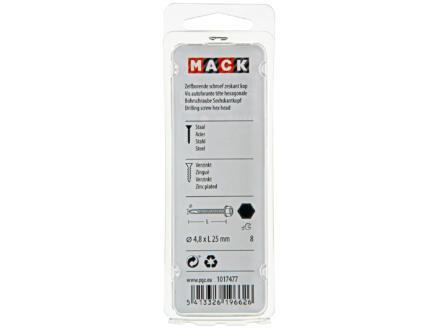 Mack Vis autoforantes H8 25x4,8 mm zingué 20 pièces