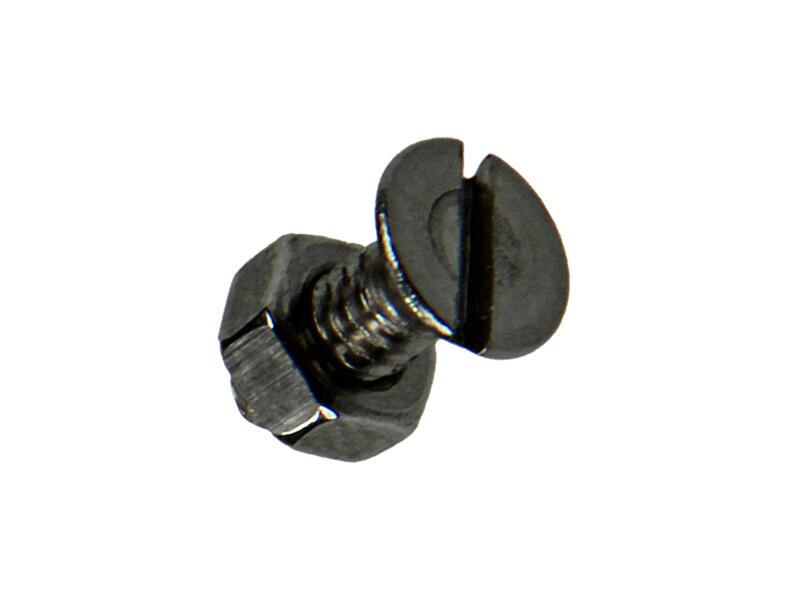 Sam Vis métal avec écrou 10x4 mm inox 15 pièces