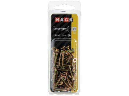 Mack Vis pour aggloméré PZ2 25x4 mm bichromate 70 pièces