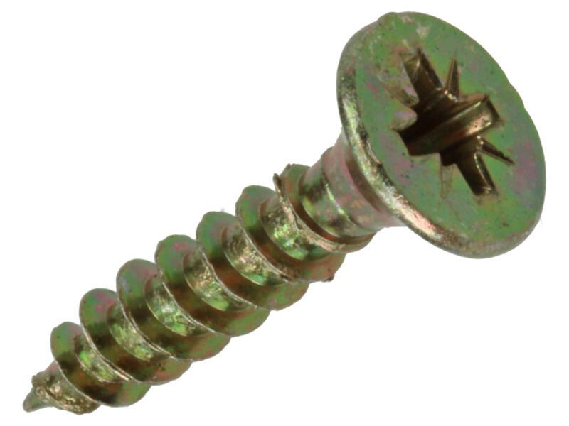 Mack Vis pour aggloméré PZ2 25x5 mm bichromate 18 pièces