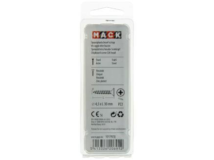 Mack Vis pour aggloméré PZ2 30x4,5 mm bichromate 50 pièces