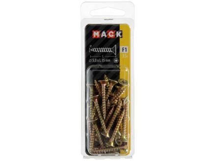 Mack Vis pour aggloméré PZ2 35x5 mm bichromate 35 pièces