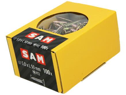Mack Vis pour aggloméré PZ2 50x5 mm bichromate 100 pièces