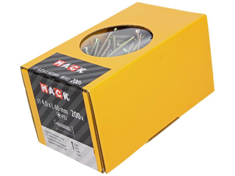 Mack Vis pour aggloméré PZ2 60x4 mm bichromate 200 pièces