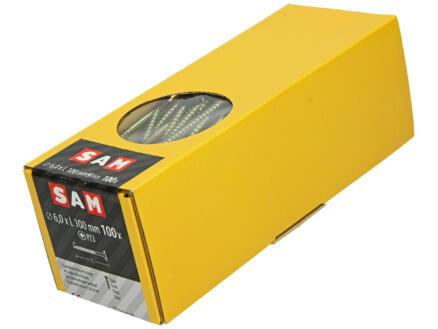 Mack Vis pour aggloméré PZ3 100x6 mm bichromate 100 pièces