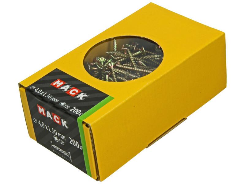 Mack Vis pour aggloméré TX20 50x4 mm bichromate 200 pièces