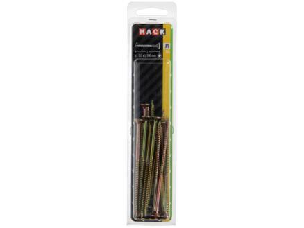 Mack Vis pour aggloméré TX25 100x5 mm bichromate 16 pièces