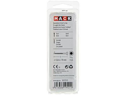 Mack Vis pour aggloméré TX25 70x5 mm bichromate 7 pièces