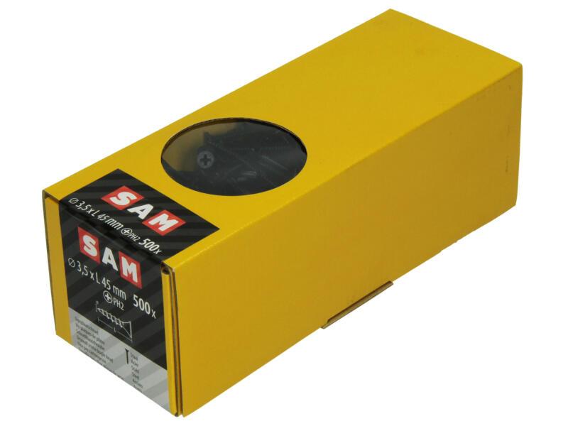 Mack Vis pour plaques de plâtre PH2 45x3,5 mm 500 pièces