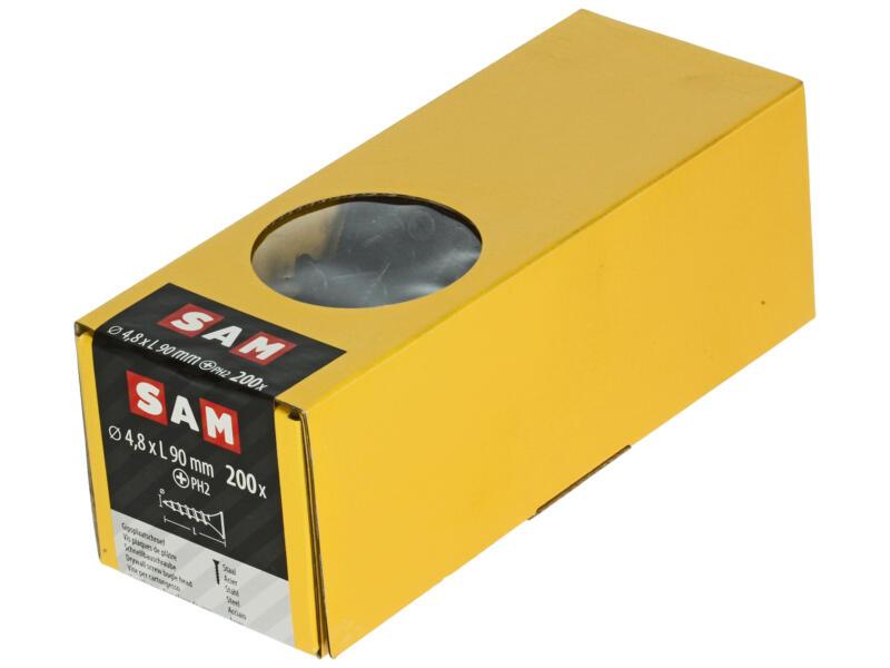 Sam Vis pour plaques de plâtre PH2 90x4,8 mm 200 pièces