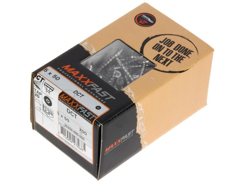 Maxxfast Vis pour terrasse TX25 50x5 mm inox 200 pièces
