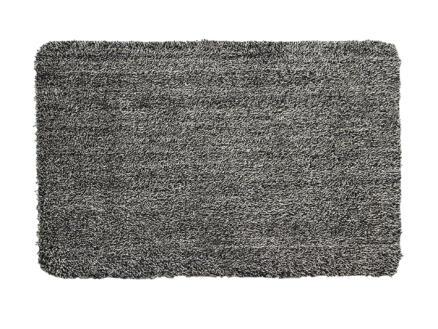 Voetmat 45x70 cm grijs