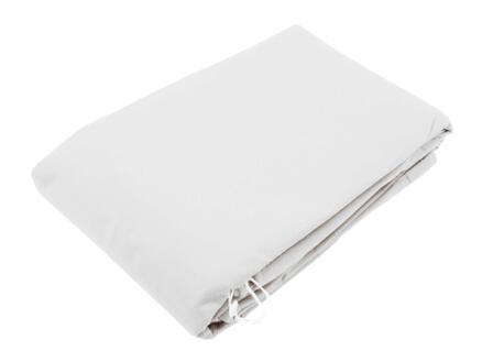 Voile d'hivernage 1x0,5 m blanc 3 pièces