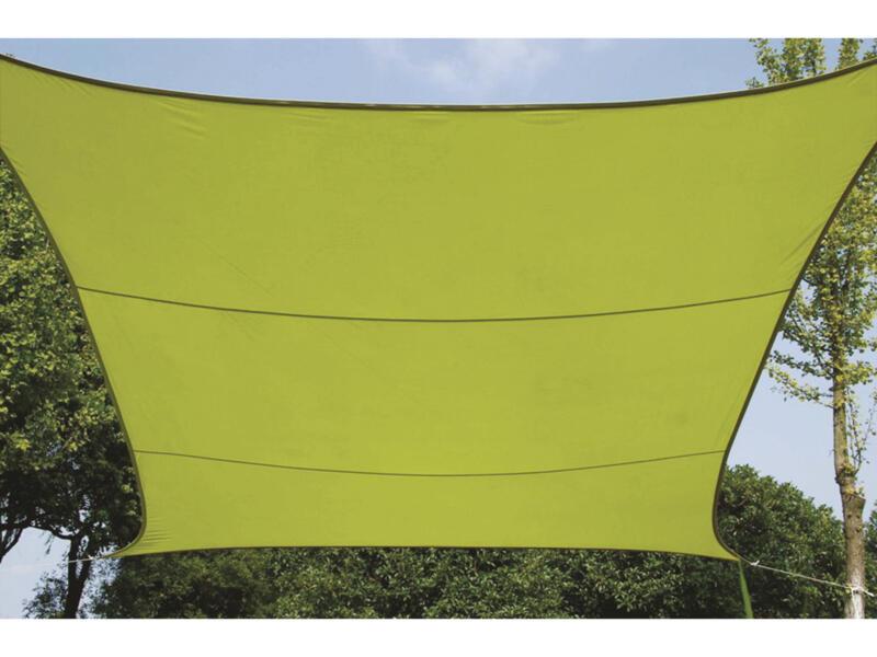 Voile d'ombrage 360x360 cm vert
