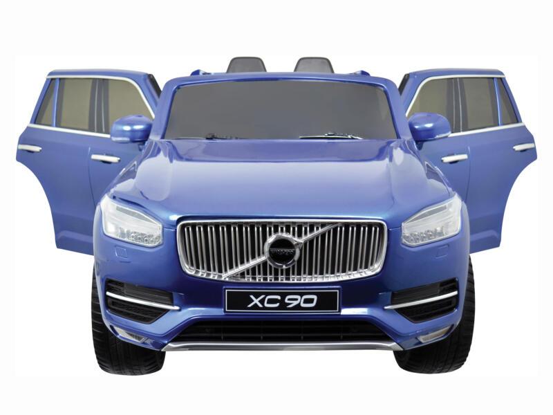 Volvo XC 90-2 elektrische kinderauto blauw met afstandsbediening