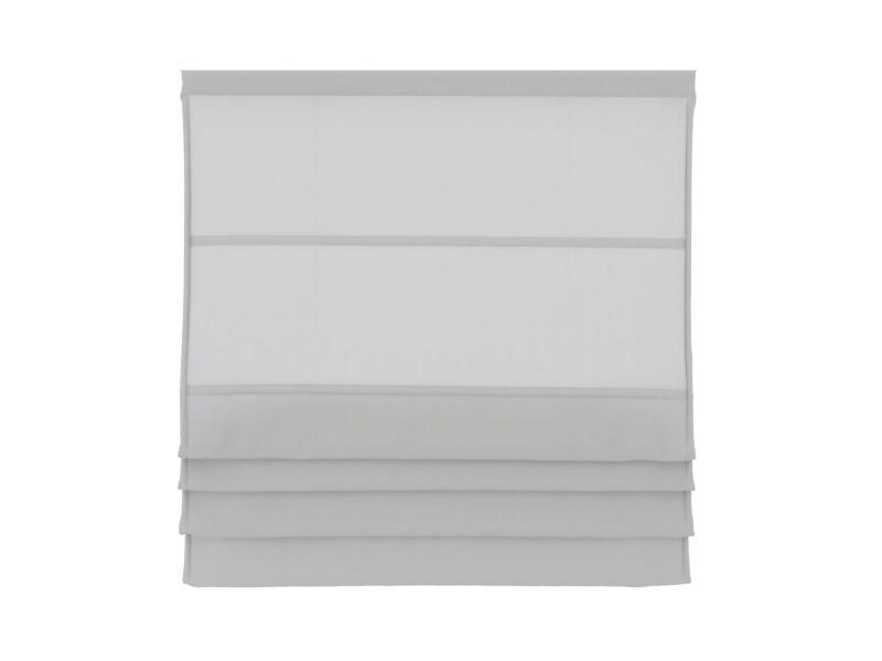 Decosol Vouwgordijn lichtdoorlatend 180x180 cm wit