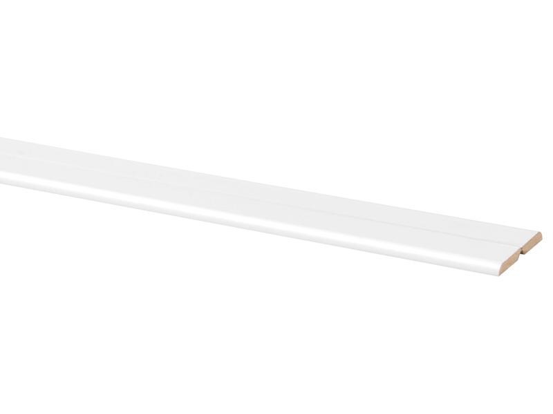 Vouwhoek 21x21 mm 260cm wit