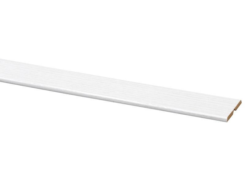 Vouwhoek 21x21 mm 260cm witte es