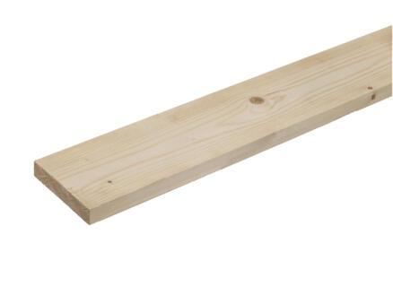 Vurenhout gekalibreerd 22x100 mm 240cm