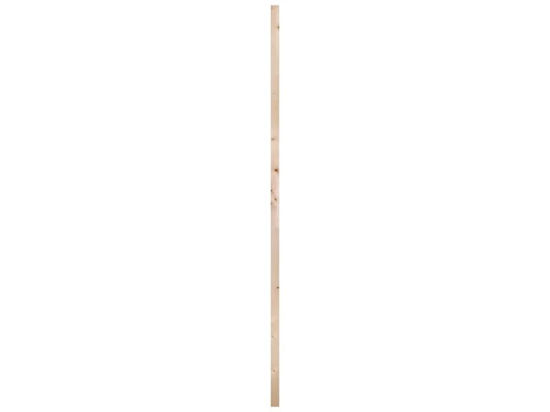 Vurenhout geschaafd 27x44 mm 390cm
