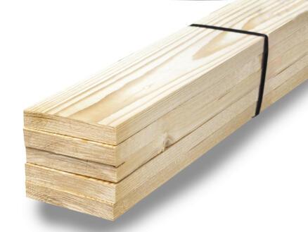 Vurenhout ruw 19x100 mm 270cm 5 stuks