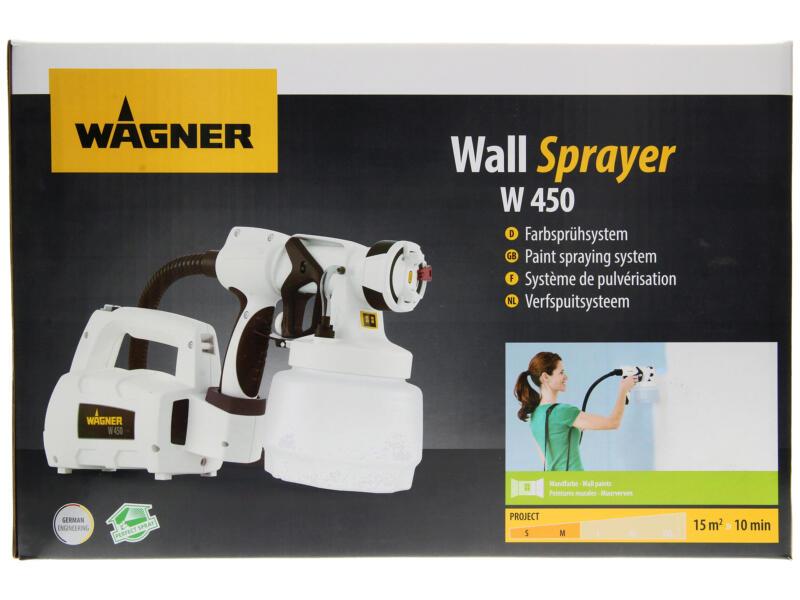 Wagner Wall Sprayer W450 pulvérisateur à peinture 460W