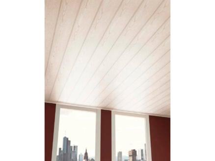Wand- en plafondpaneel 260x15,4 cm 4,8m² witte es
