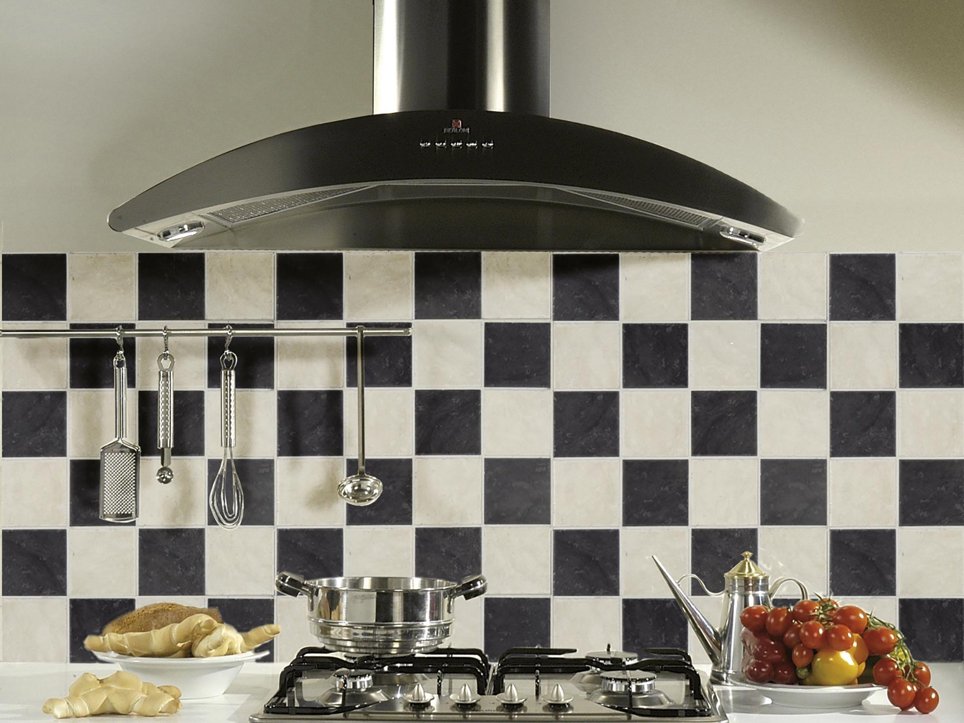 Keuken Tegels 10x10 : Wandtegel cosmopolitan 10x10 cm zwart hubo