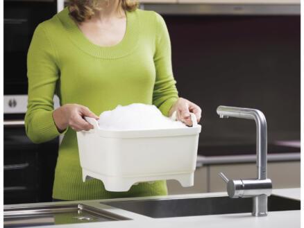Wash & Drain afwasteil met stop 30x30x20 cm
