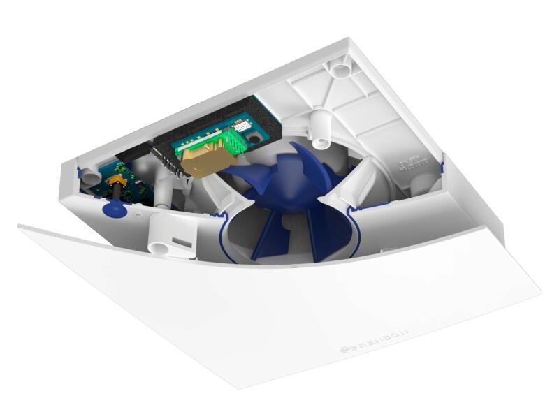 Renson Waves extracteur d'air mécanique  100-125mm détecteur de CO² blanc