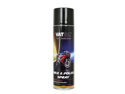 Wax & Polish spray nettoyant rénovateur moto 500ml