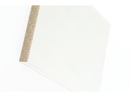 Werkblad W303 183x60x3 cm wit