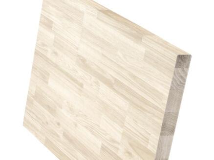 Werkblad massief beuken 250x80x3,8 cm